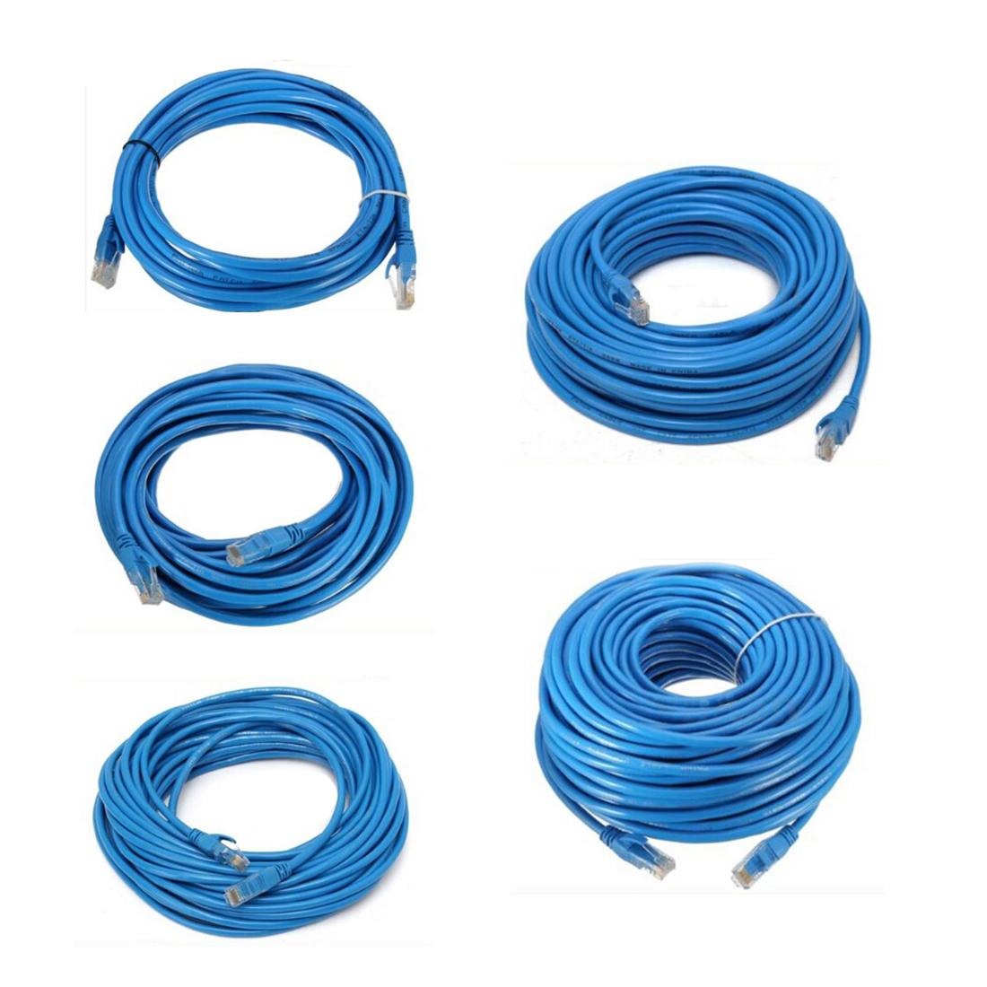 Flat CAT6 Ethernet 100M / 1000Mbps Patchkabel Netzwerk RJ45 PLAT In Großhan V8C7