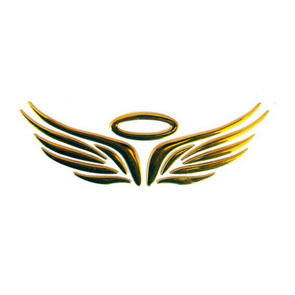 2x3d Angel Fairy Wings Car Auto Truck Logo Emblem Badge Decal