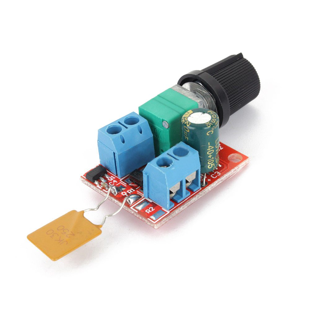 Mini Dc Motor Pwm Speed Controller 3v 35v 90w Speed Control Switch Led J Z3h3