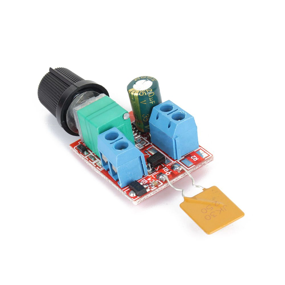 Mini dc motor pwm speed controller 3v 35v 90w speed for Small dc motor controller