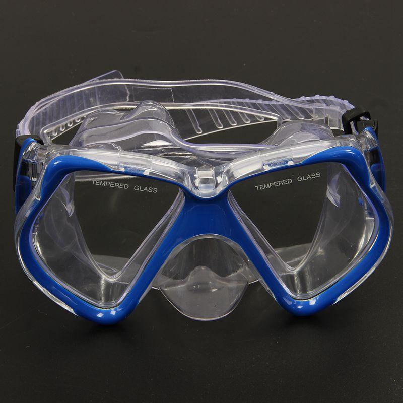 Lunettes de masque natation Lunettes masque de de plongee sec Snorkel Set W9I6 36ea17
