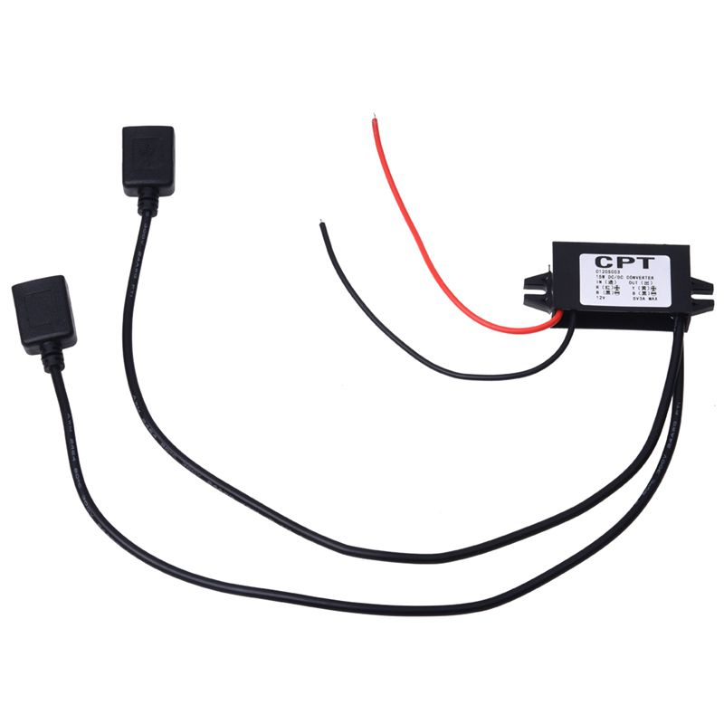 DC-Convertidor-12V-a-5V-3A-Doble-2-USB-a-Voltaje-del-Regulador-de-Energia-Automa