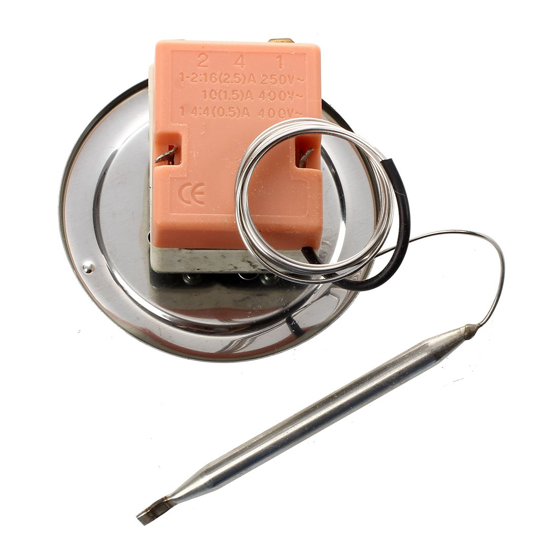 30-80C Adjustable Temperature Controller Capillary Thermostat N3