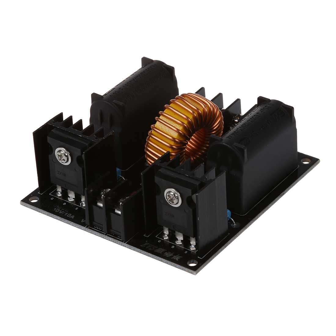 Zvs Tesla Coil Driver Board Marx Generator Jacobs Ladder Power Transformer On Induction Heater Schematic Diagram Supply T1w2
