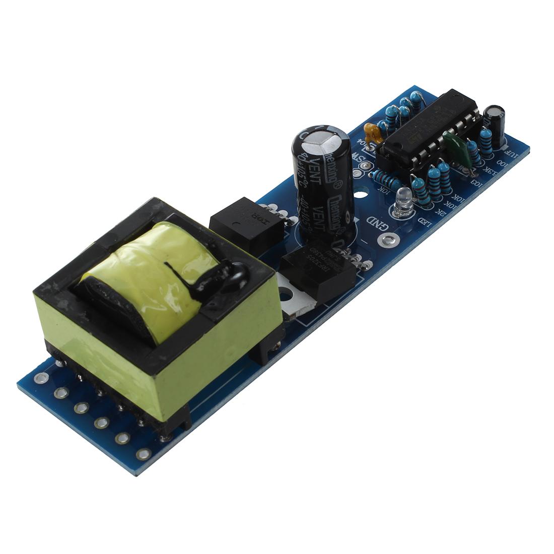 Mini Strip Inverter Dc 12v To Ac 110v 220v Single Silicon Boost Circuit Board Converter Pk