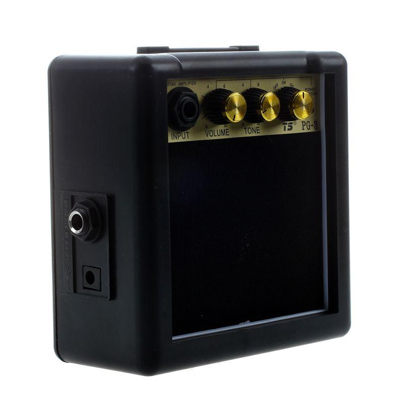 5x (pg-3 3w e-gitarrenverstaerker amp con altavoz & volumen-ton volumen-ton volumen-ton control UI  de moda