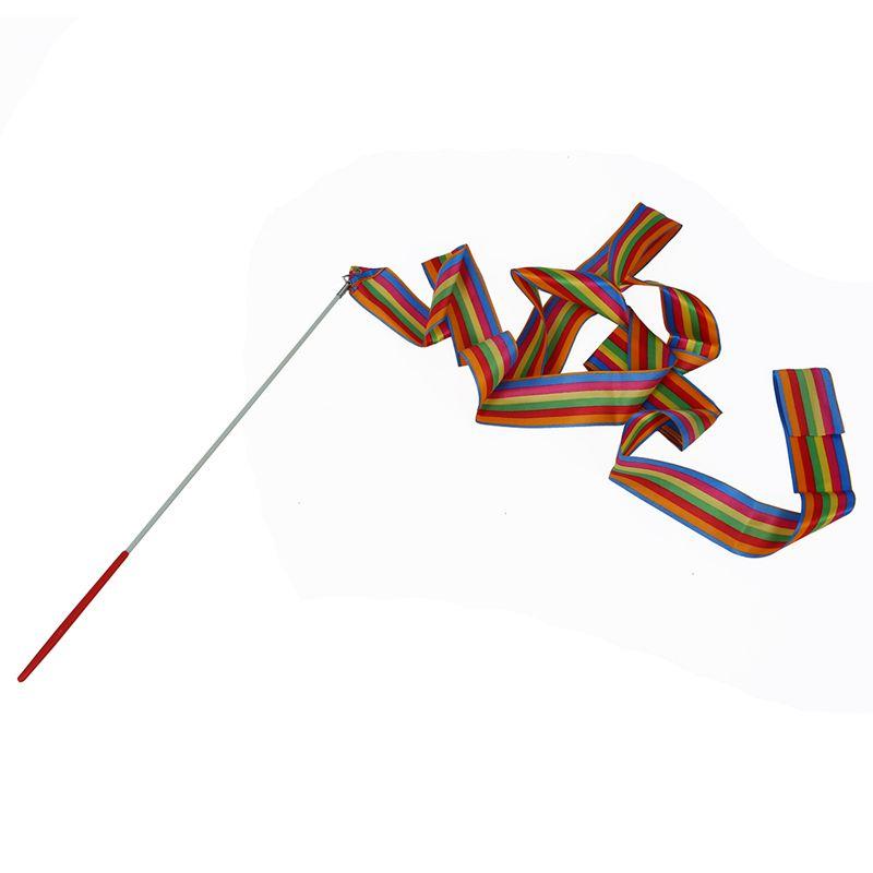 4M Ruban Danse Gymnastique Rythmique Streamer Ribbon Gym Art Sport Loisir  D9K9 6e235d7ea15