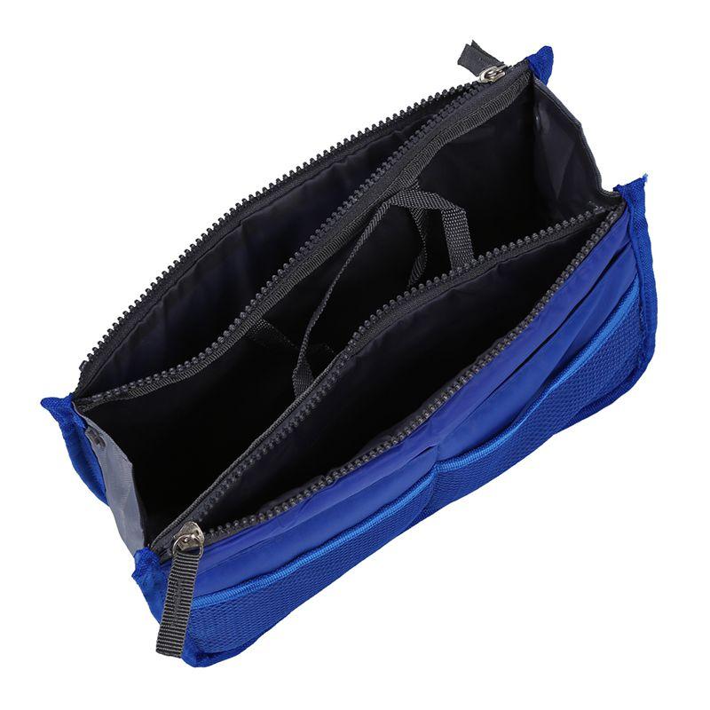 Bolso-de-Organizador-De-Moda-con-Dual-cremallera-para-Mp3-Telefono-Cosmetic-E4J2 miniatura 3