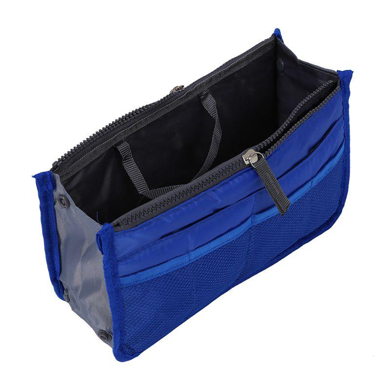 Bolso-de-Organizador-De-Moda-con-Dual-cremallera-para-Mp3-Telefono-Cosmetic-E4J2 miniatura 4