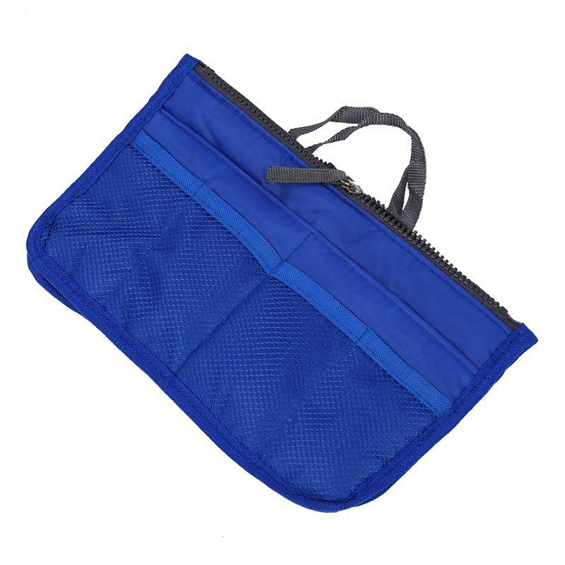 Bolso-de-Organizador-De-Moda-con-Dual-cremallera-para-Mp3-Telefono-Cosmetic-E4J2 miniatura 6
