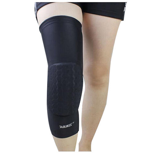 dd463e1b27 Aolikes 1pcs Hex Sponge Basket ball Sports Knee Pads Leg Compression Sleeve  N8X5. Brand Name: AOLIKES Suit sport 1: Basketball, volleyball, soccer, ...