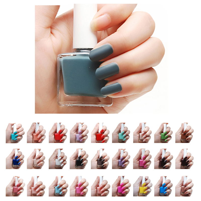 12ml Matte Candy Color Nail GEL Shine Varnish Semi Permanent ...