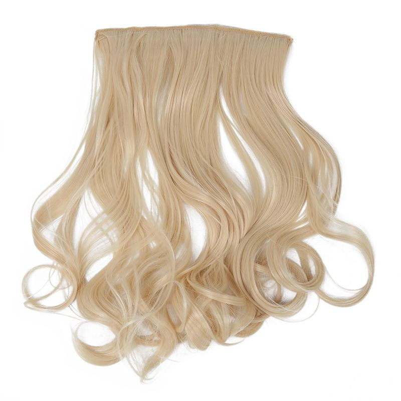 18cf Super Realistic Hair Piece Not Easy To Knot 5 Clips In Hair