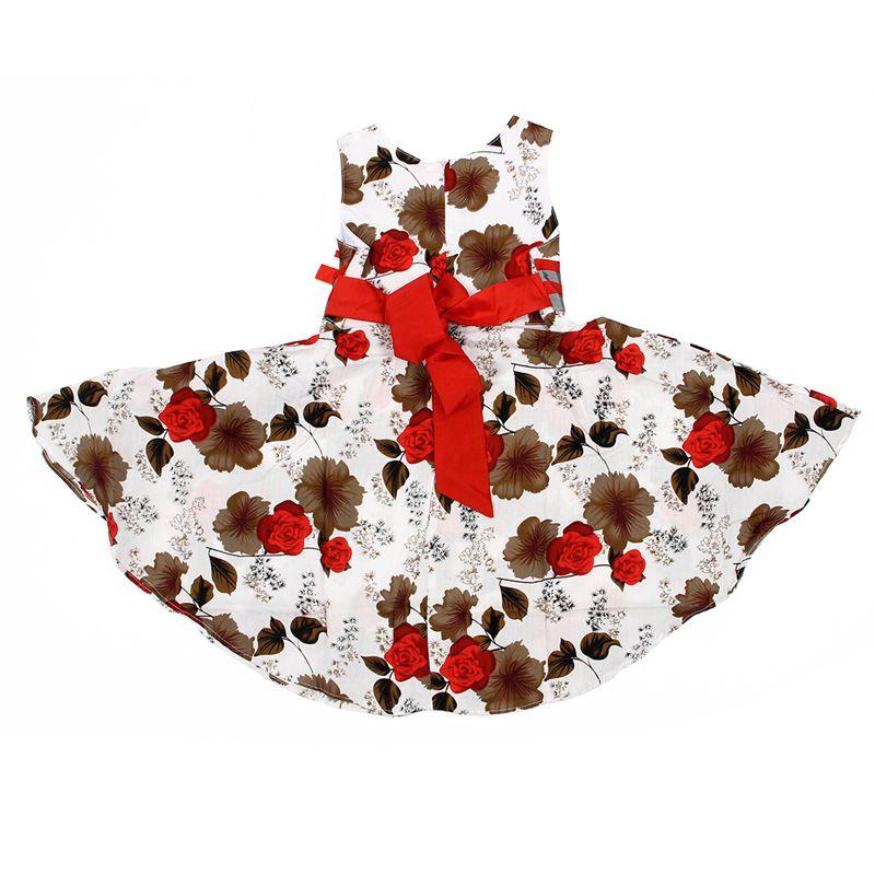 Vestido-Rojo-Elegante-para-Ninos-Ninas-Vestido-de-Princesa-para-Fiesta-De-La-PB miniatura 3