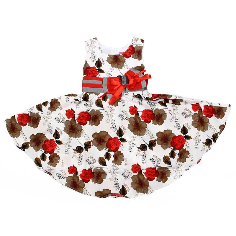 Vestido-Rojo-Elegante-para-Ninos-Ninas-Vestido-de-Princesa-para-Fiesta-De-La-PB miniatura 2