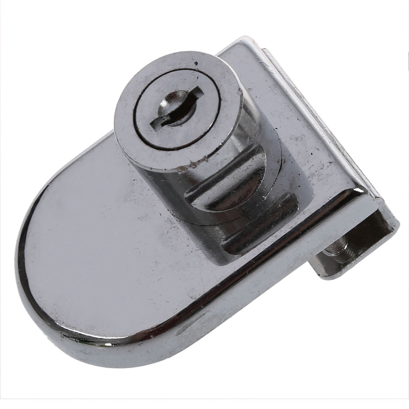 Details about 1X(Showcase Display Cabinet Glass Door Lock Replacement with  2 Keys W7T8)