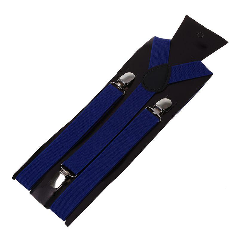 Adult-Adjustable-Metal-Clamp-Elastic-Suspenders-Braces-W7U2 thumbnail 3