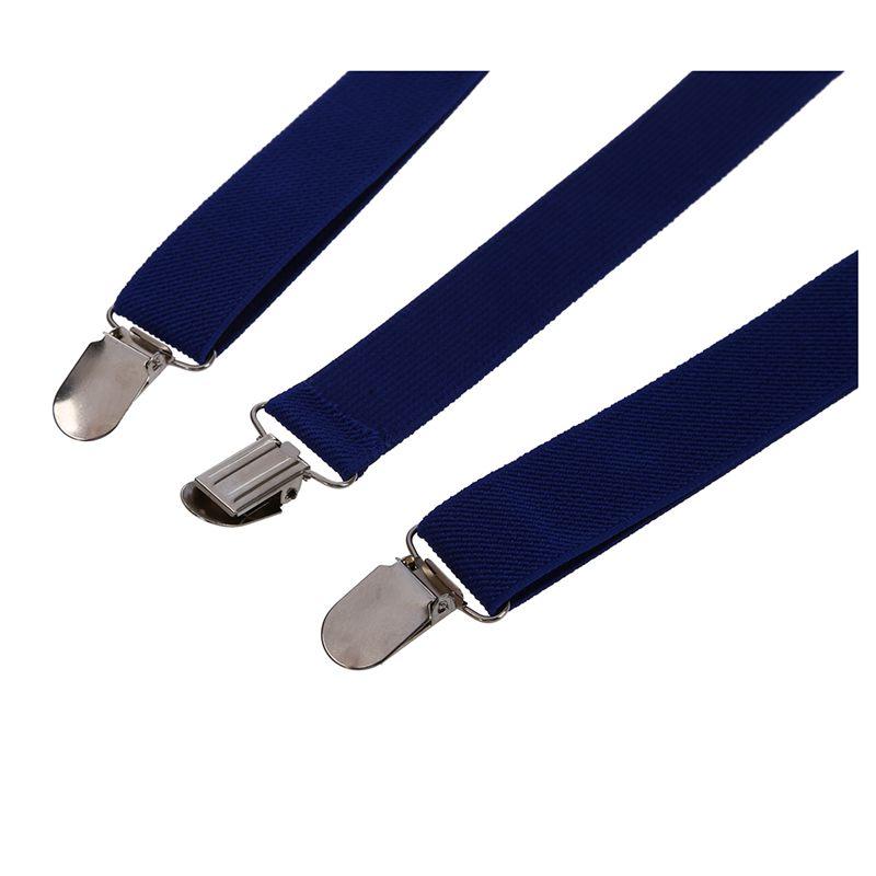 Adult-Adjustable-Metal-Clamp-Elastic-Suspenders-Braces-W7U2 thumbnail 4