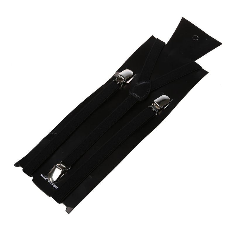 Adult-Adjustable-Metal-Clamp-Elastic-Suspenders-Braces-W7U2 thumbnail 9