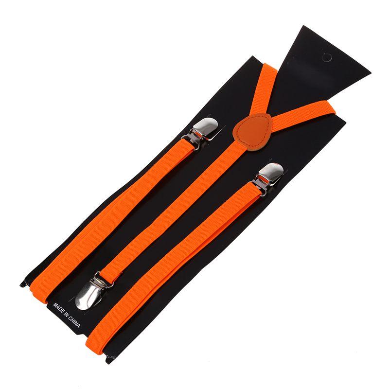 Adult-Adjustable-Metal-Clamp-Elastic-Suspenders-Braces-W7U2 thumbnail 18