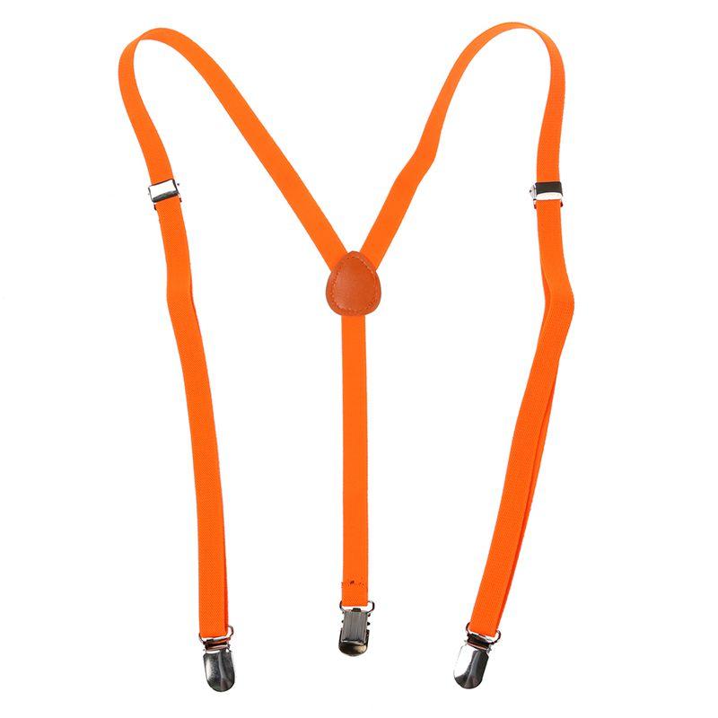 Adult-Adjustable-Metal-Clamp-Elastic-Suspenders-Braces-W7U2 thumbnail 19