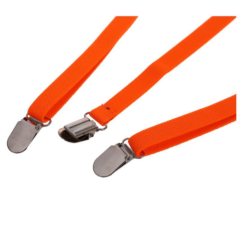 Adult-Adjustable-Metal-Clamp-Elastic-Suspenders-Braces-W7U2 thumbnail 20