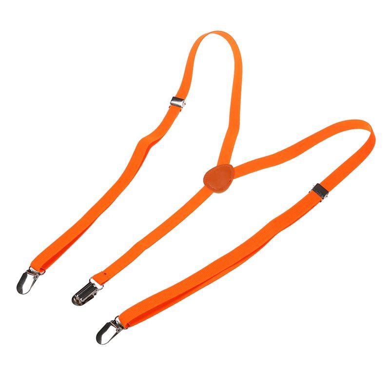 Adult-Adjustable-Metal-Clamp-Elastic-Suspenders-Braces-W7U2 thumbnail 21