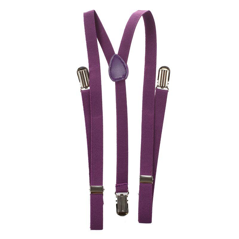 Adult-Adjustable-Metal-Clamp-Elastic-Suspenders-Braces-W7U2 thumbnail 24