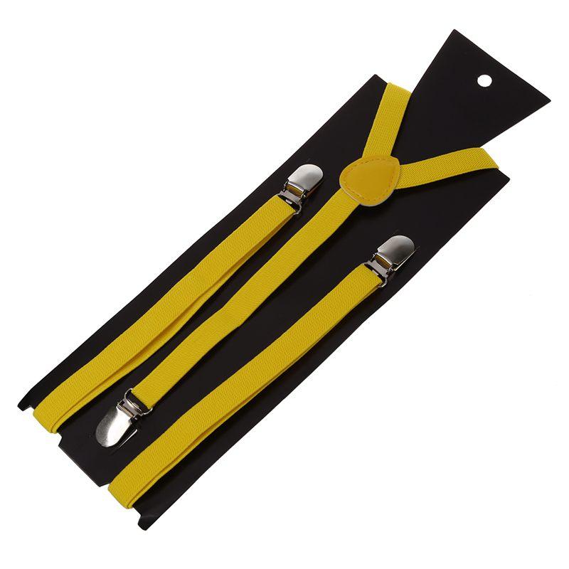 Adult-Adjustable-Metal-Clamp-Elastic-Suspenders-Braces-W7U2 thumbnail 29