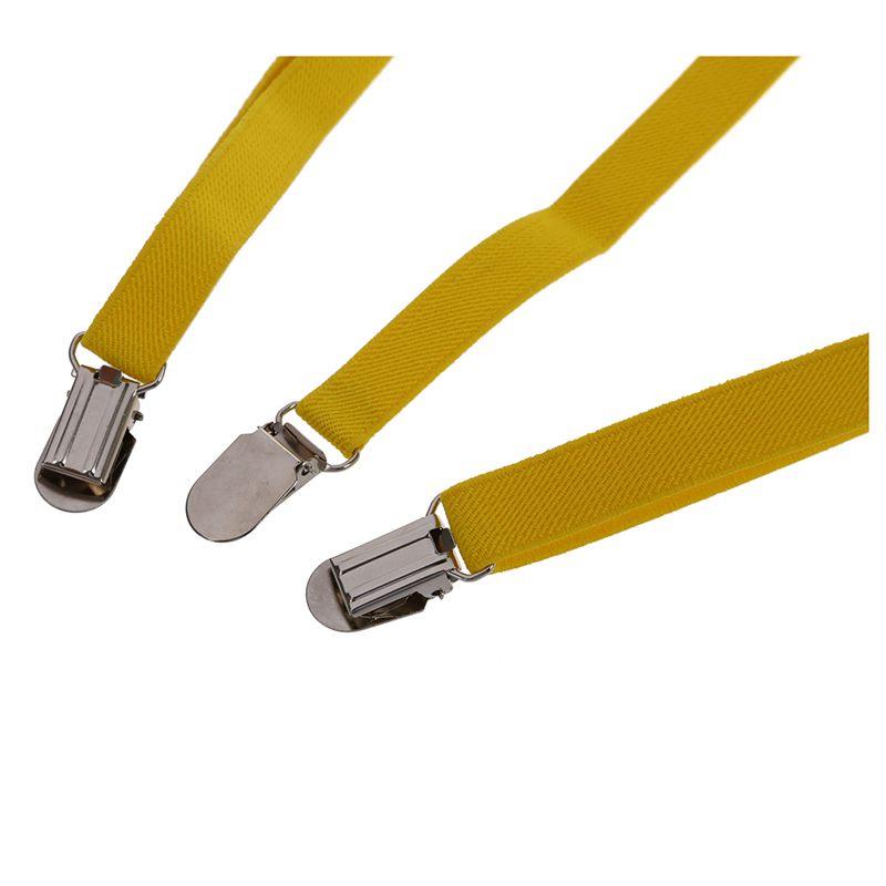 Adult-Adjustable-Metal-Clamp-Elastic-Suspenders-Braces-W7U2 thumbnail 30