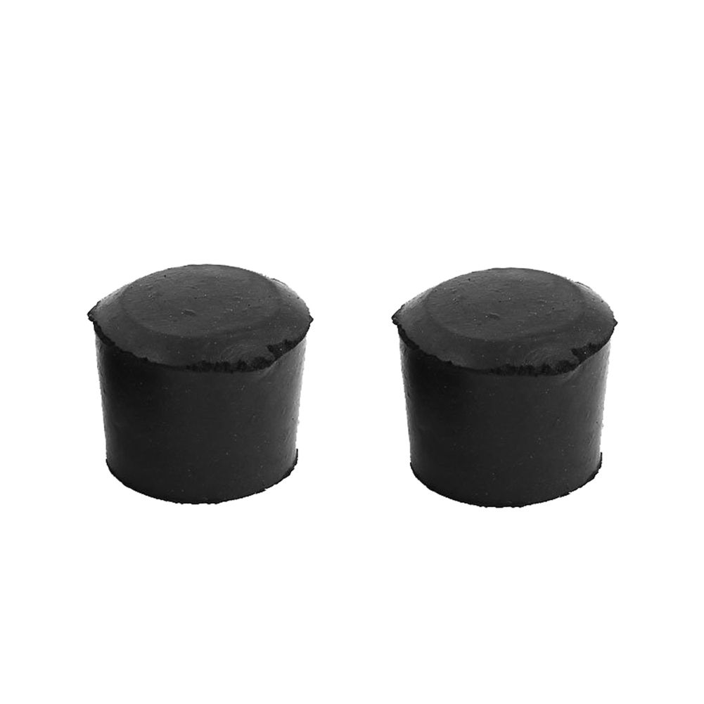 Power Tool Accessories Official Website 10pcs Round Black Rubber Chair Leg Pad Cover 31x24x25mm Furniture Feet Non-slip Tools