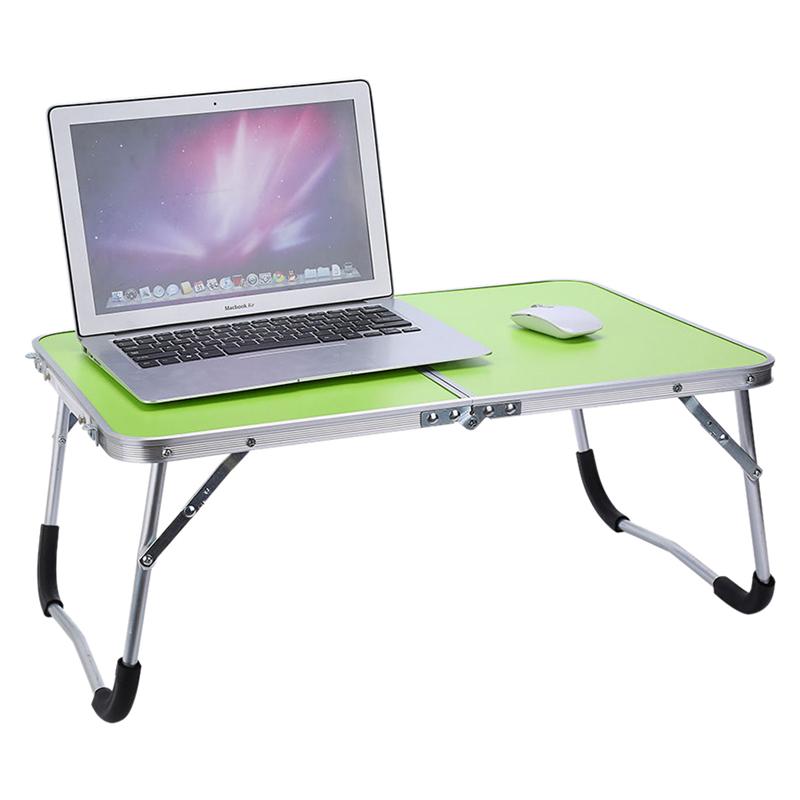 Support-De-Table-Portable-Reglable-Pour-Ordinateur-Pliant-Le-Plateau-De-Lit-S8L9 miniature 7