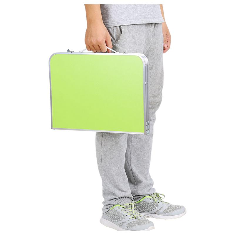Support-De-Table-Portable-Reglable-Pour-Ordinateur-Pliant-Le-Plateau-De-Lit-S8L9 miniature 9