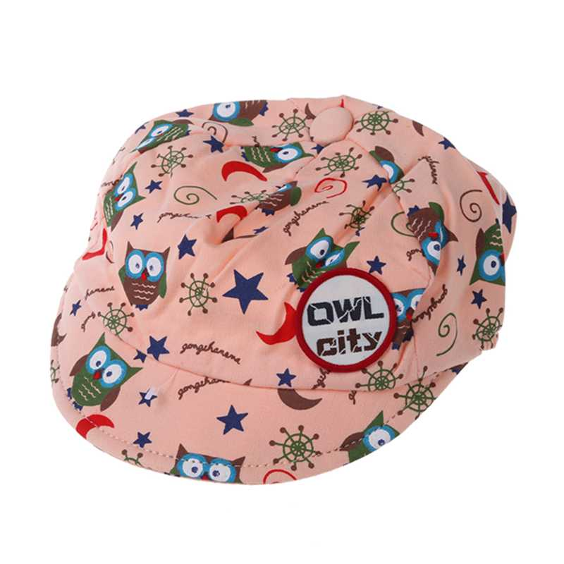 Cute Baby Kids Boys Girls Toddler Infant Hat Little Car Baseball Beret Cap Blue