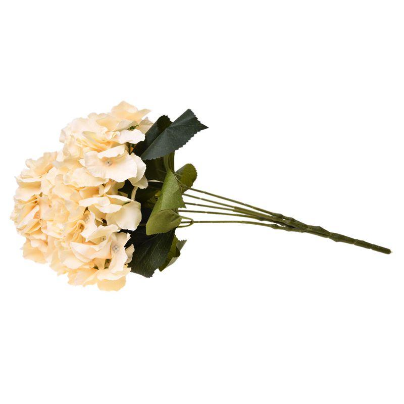 Flor-de-Hortensia-Artificial-5-Cabezas-Grandes-Ramo-Diametro-de-7-Pulgada-Q6P1 miniatura 26