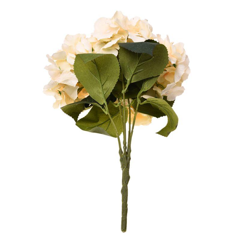Flor-de-Hortensia-Artificial-5-Cabezas-Grandes-Ramo-Diametro-de-7-Pulgada-Q6P1 miniatura 27