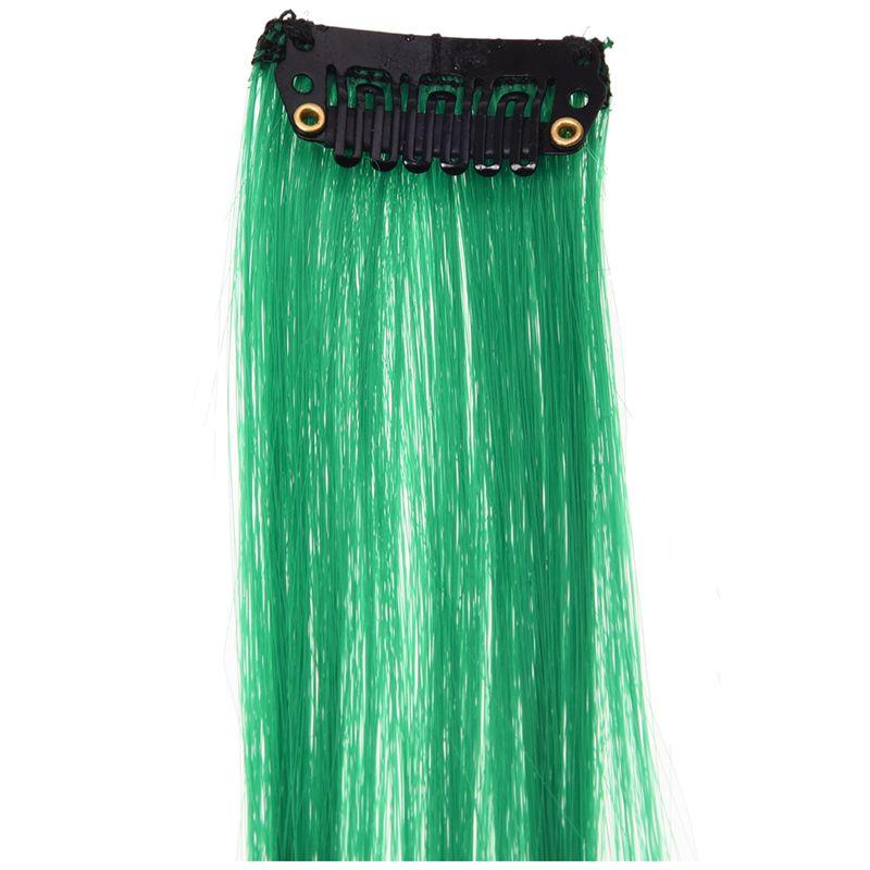 1-PC-Cheveux-d-039-extension-droite-longues-colore-pour-Femmes-Cheveux-de-plume-NJ miniature 3
