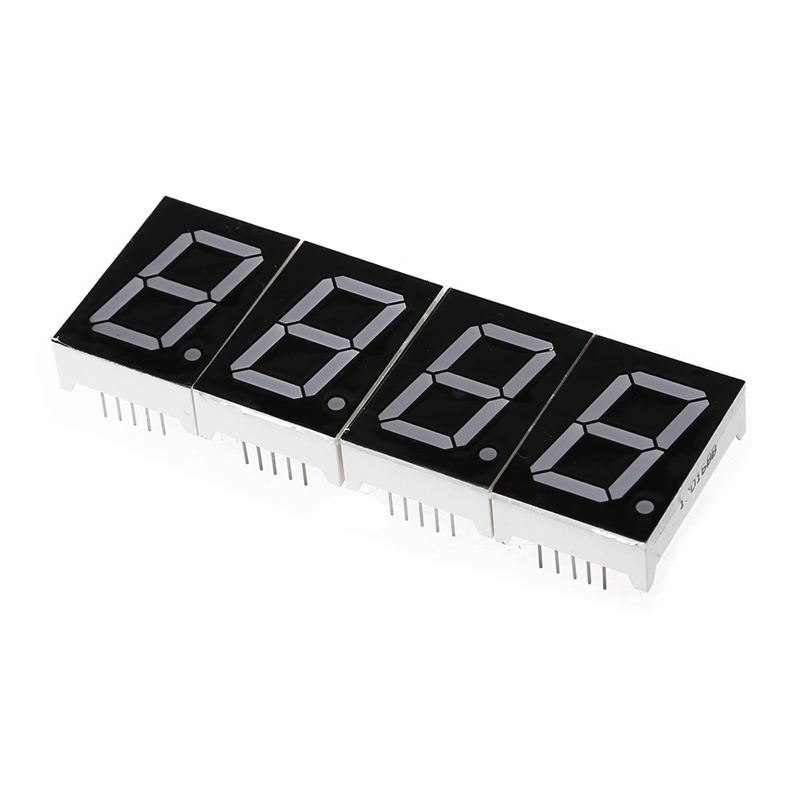 DIY Digital LED Large Screen Display Clock kit with case Red  N1A8