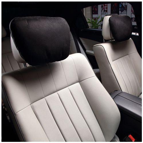 Softest Auto Car Neck Pillow - Plush Headrest Support Cushion For Pain Reli K7I5