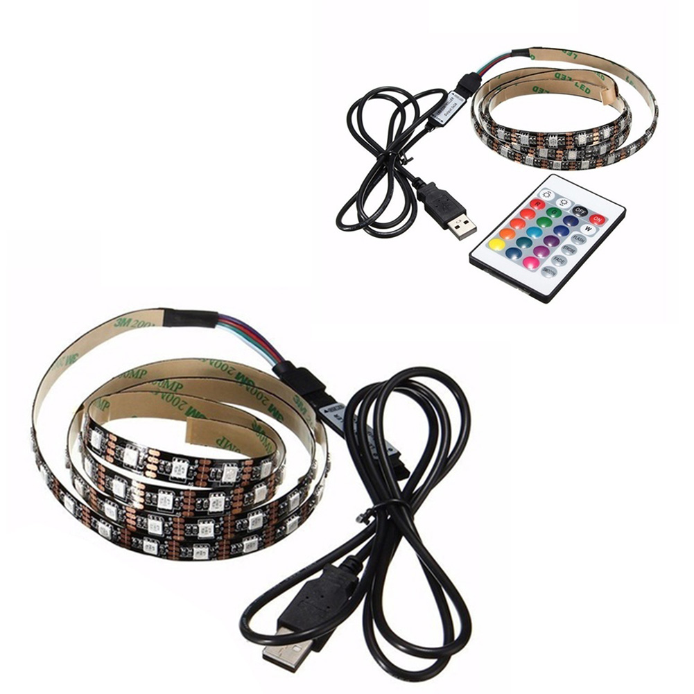 1m 5v 5050 Smd 60led Color Changing Rgb Led Strip Light Tv Back Connectors Wiring For Single Ebay Note Shooting And Different Displays May Cause The Of Item In Picture A Little From Real Thing
