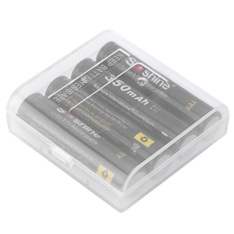 Soshine-4pcs-3-7V-AAA-10440-350mAh-with-Transparent-box-Li-ion-Battery-V3I7