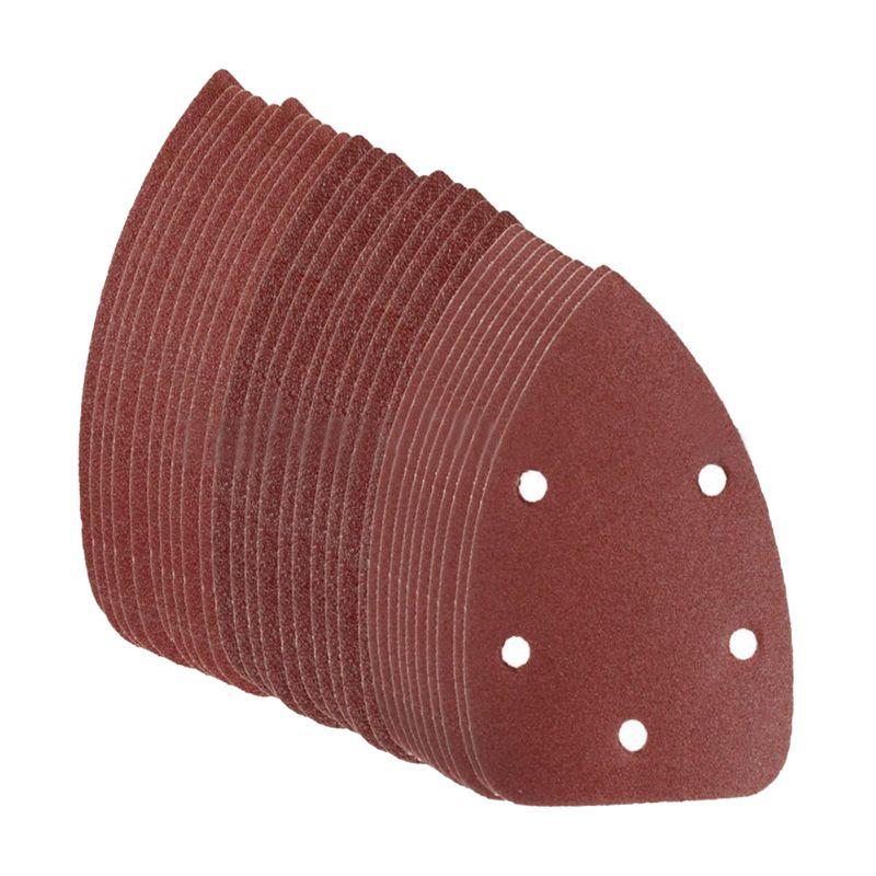 assortiti 5 fori grana 60 fogli abrasivi Carta abrasiva fogli di carta abrasiva 120 80 100 40 dischi abrasivi