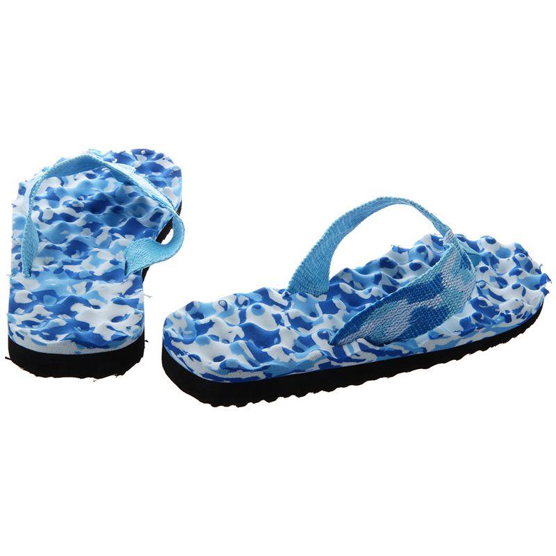 2X-Zapatillas-De-Espiga-De-Camuflaje-De-Mujer-Sandalias-De-Fondo-De-Masaje-S8G7 miniatura 4