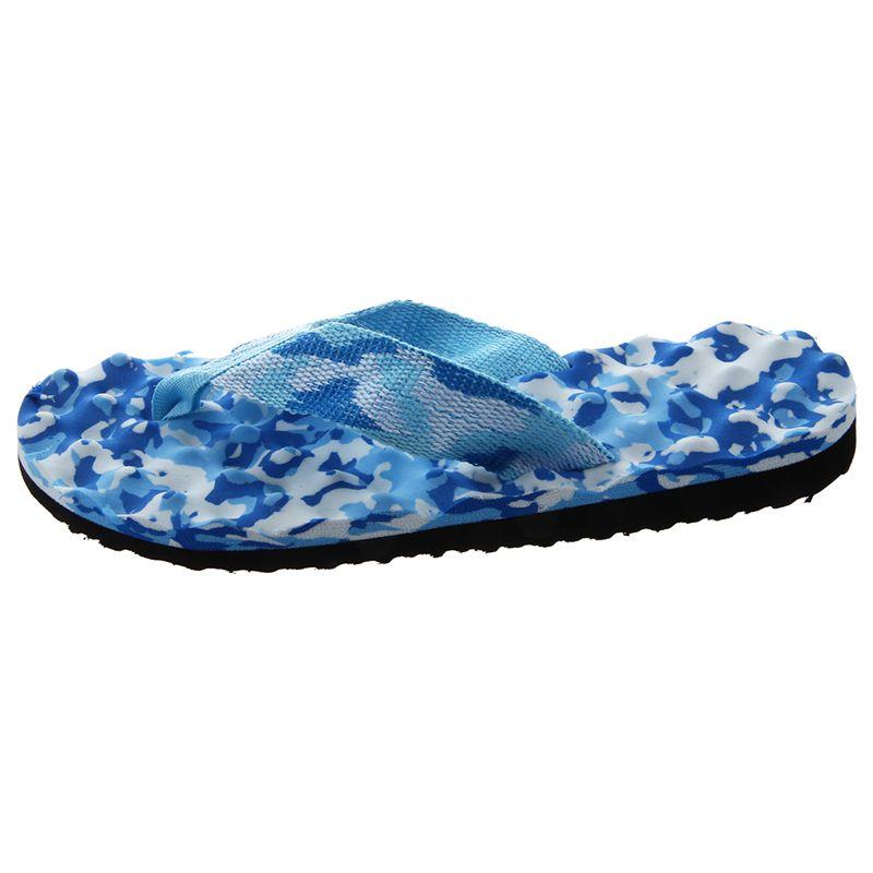 2X-Zapatillas-De-Espiga-De-Camuflaje-De-Mujer-Sandalias-De-Fondo-De-Masaje-S8G7 miniatura 6