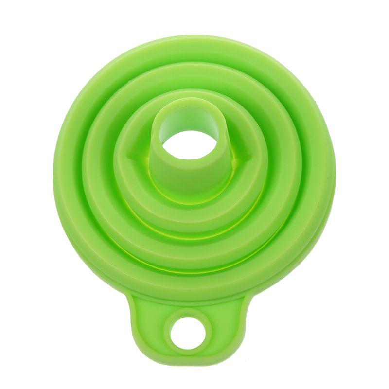 Embudos-retractiles-portatiles-Embudo-de-cocina-de-casa-Almacenamiento-C8Z5 miniatura 3