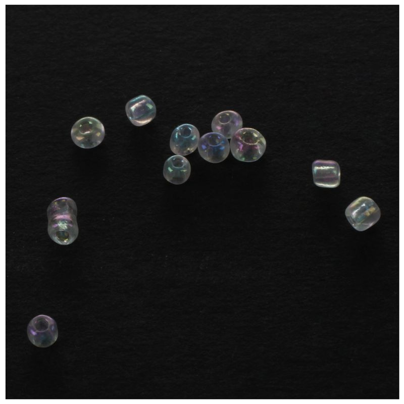 1200-piezas-2mm-cuentas-redondas-checas-de-granos-de-color-azul-de-cristal-Z7H5 miniatura 9