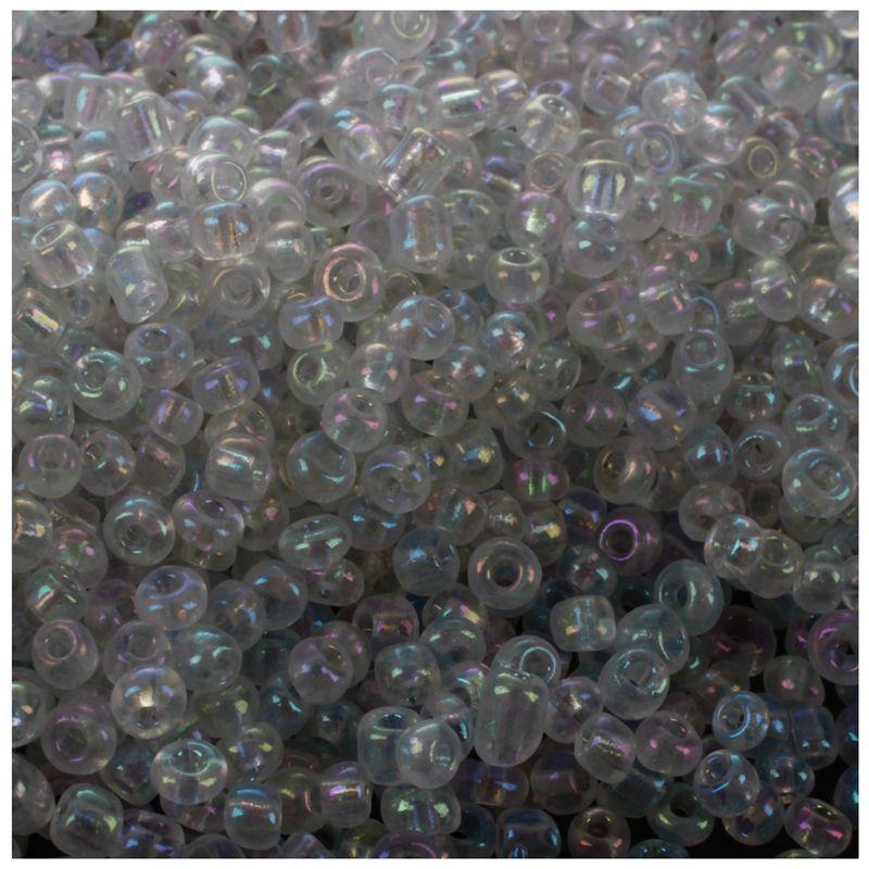 1200-piezas-2mm-cuentas-redondas-checas-de-granos-de-color-azul-de-cristal-Z7H5 miniatura 10