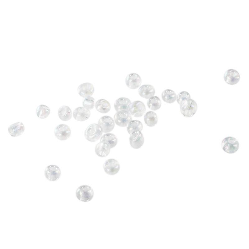 1X-1200-Stueck-2mm-blau-runden-tschechischen-Glas-Seed-Spacer-lose-Perlen-I7P4 Indexbild 10