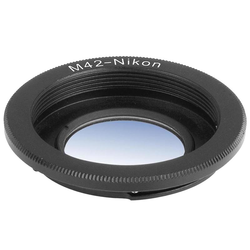 4X-Adaptador-de-montura-de-lentes-M42-42mm-a-Nikon-D3100-D3000-D5000-foco-inf-S6