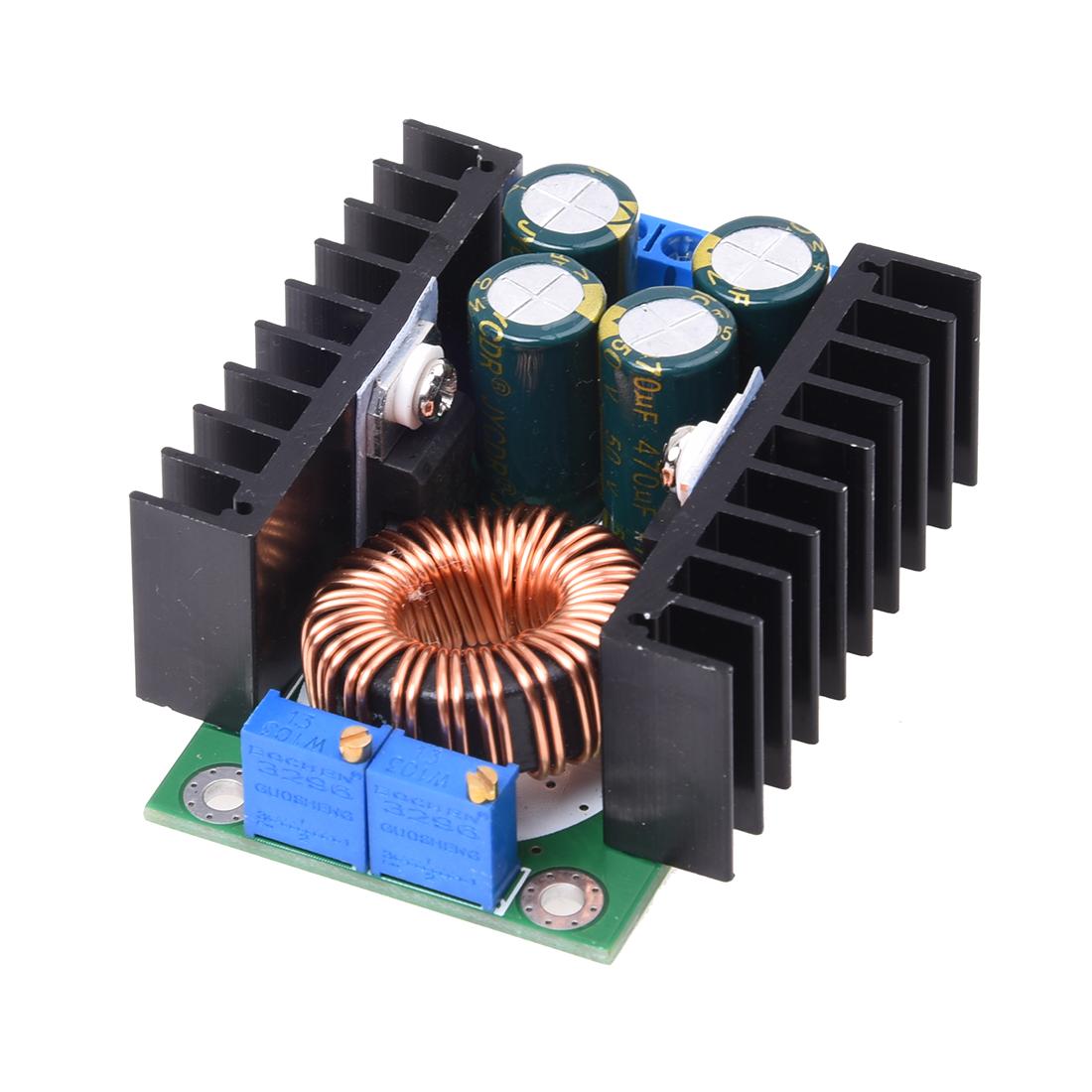 Dc Cc Cv Buck Converter Power Module 7 32v To 08 28v 12a 300w High Low Voltage System Supply 5 6v 12v 14v 24v Battery Charge Package Included 1 X